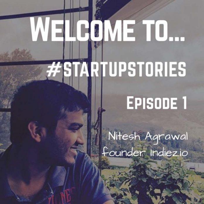 Nitesh Agrawal founder indiez.io