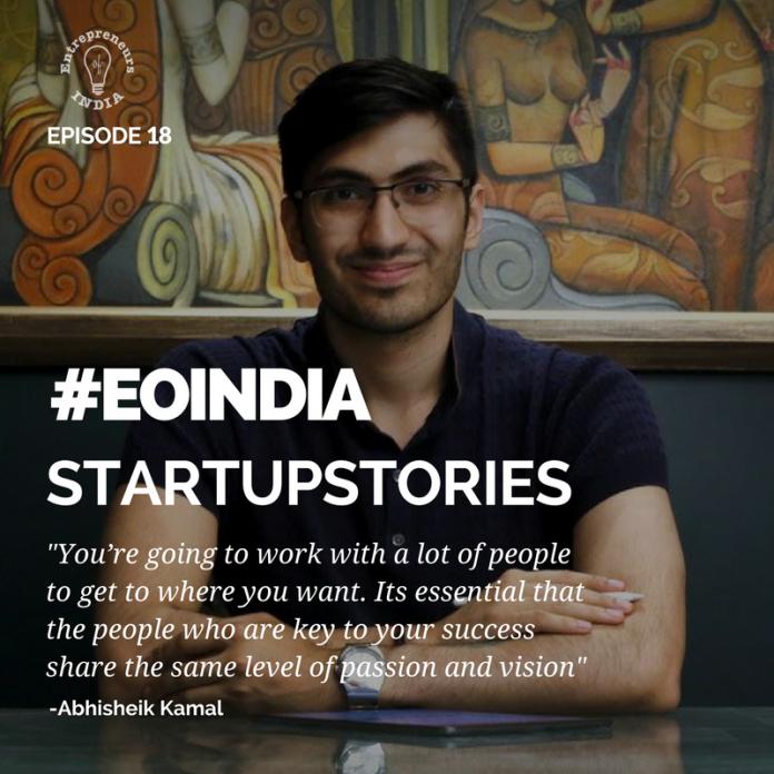 Abhisheik start up stories
