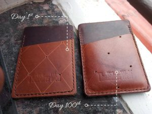 Card Sleeve after 100 days
