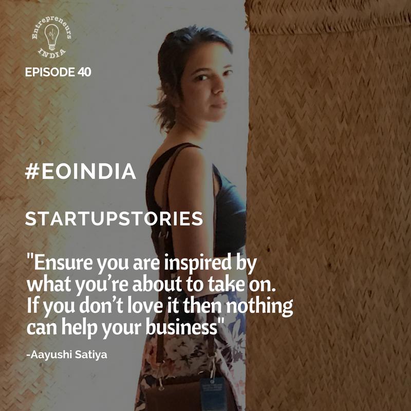 Startup story of ASyushi Satiya co founder of Pizza furniture