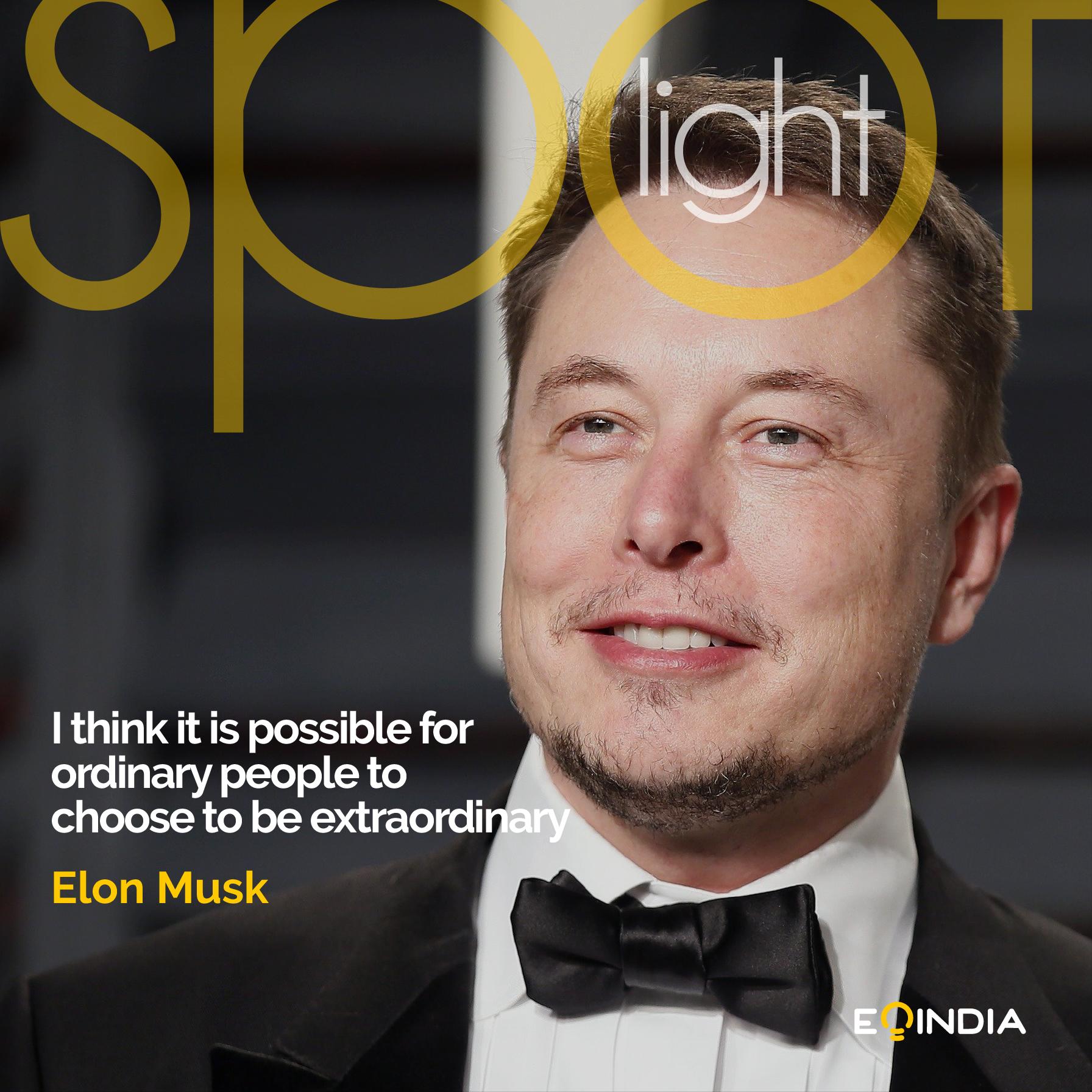Elon Musk- Inspiring entrepreneurs