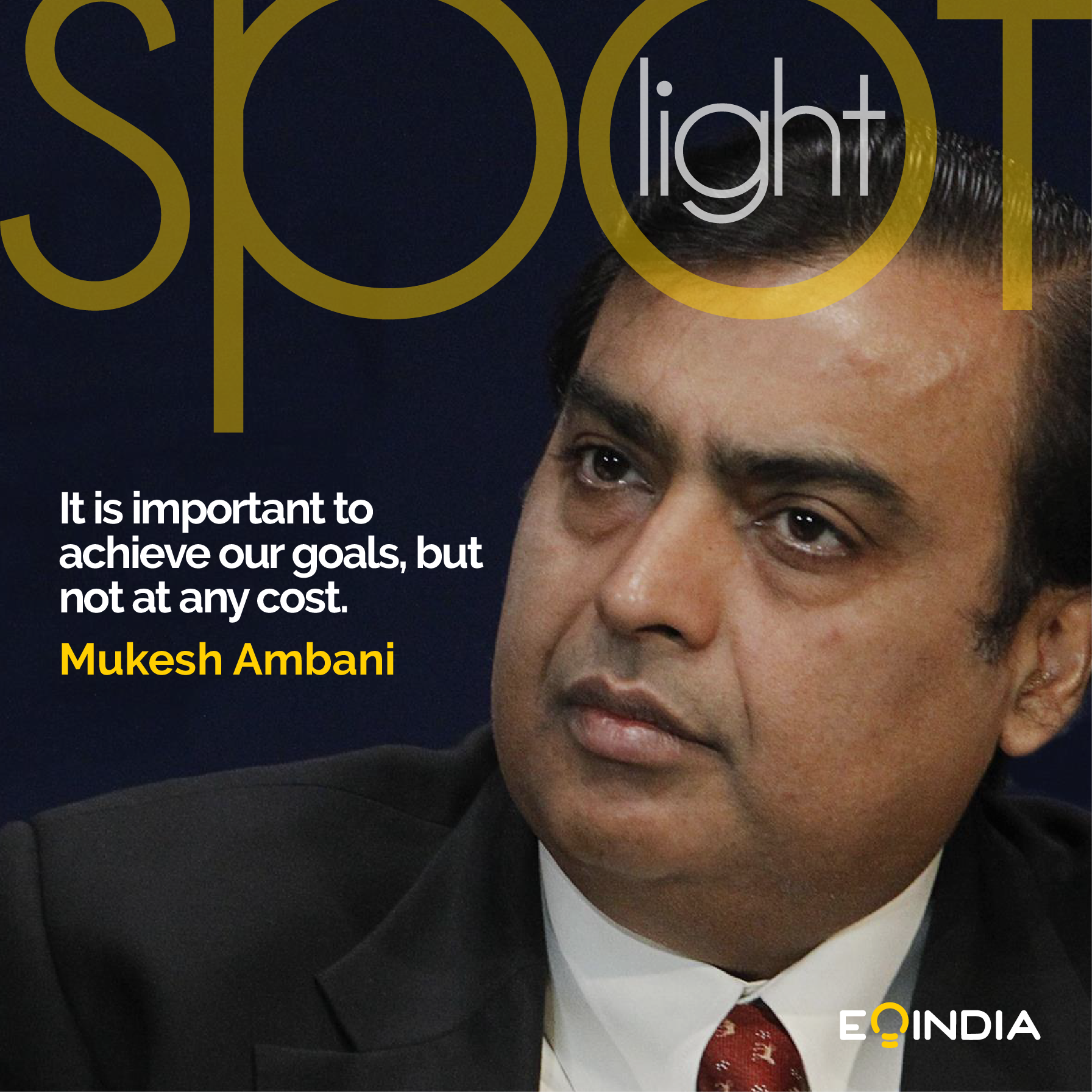 Top Entrepreneurs of India- Mukesh Ambani