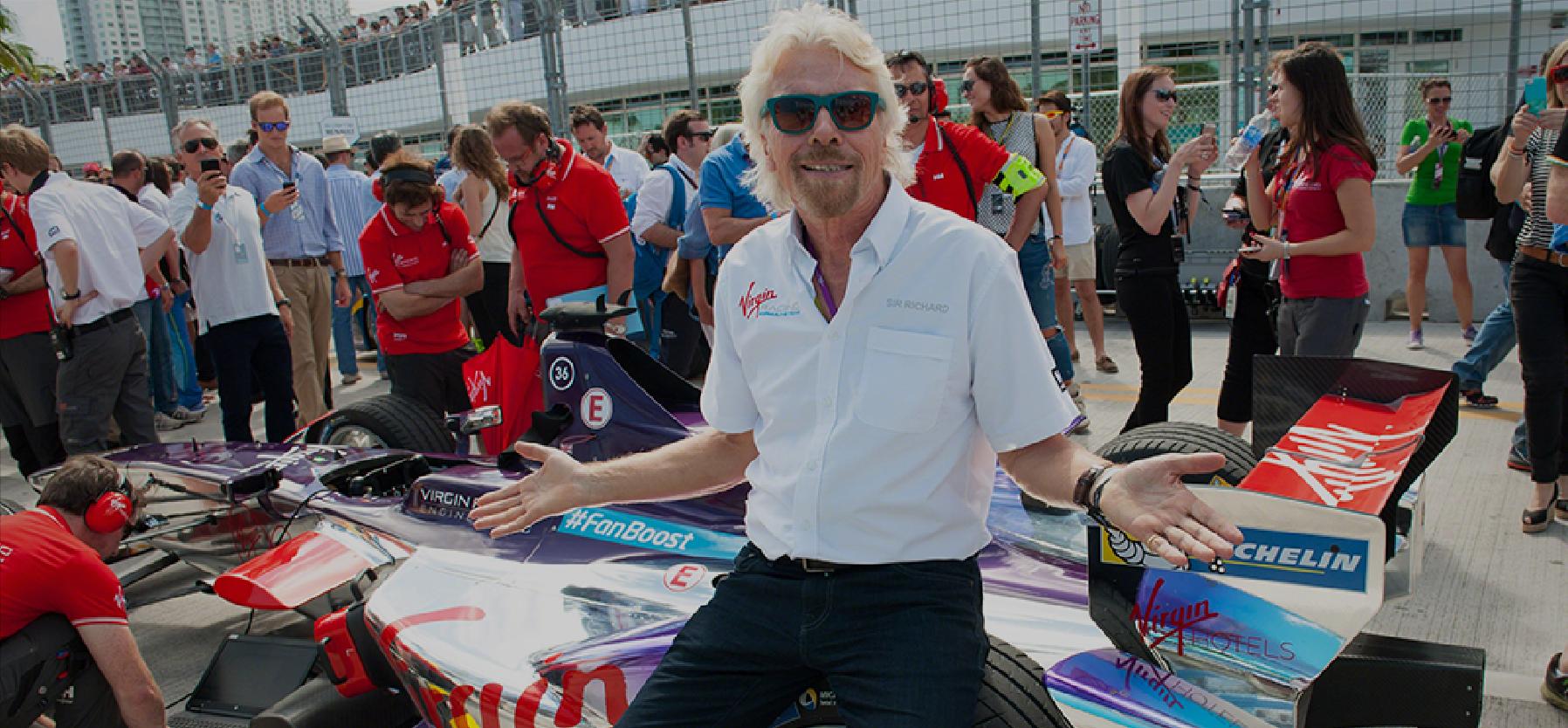 Richard Branson- Inspiring entrepreneurs