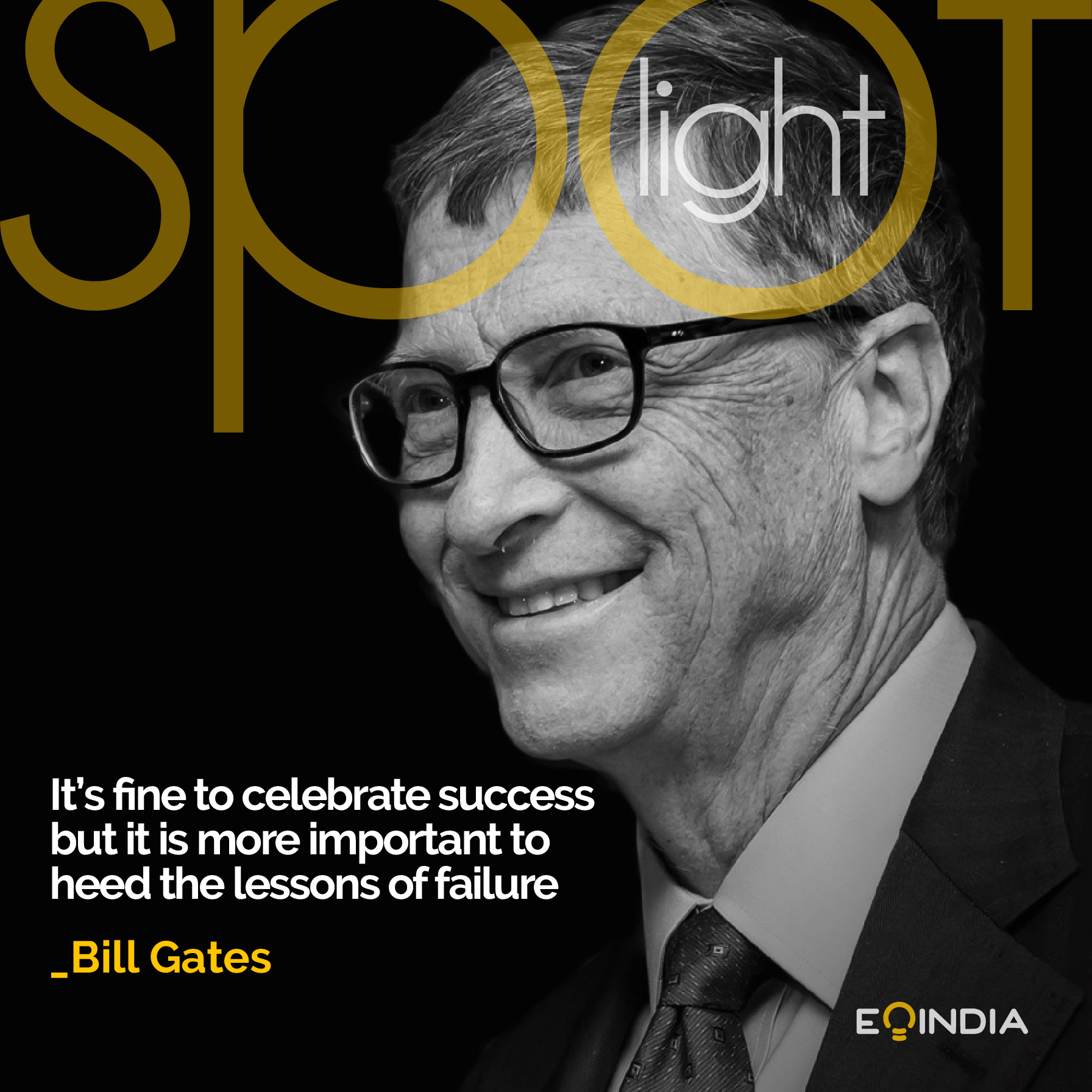 Bill Gates -Inspiring entrepreneurs of the world