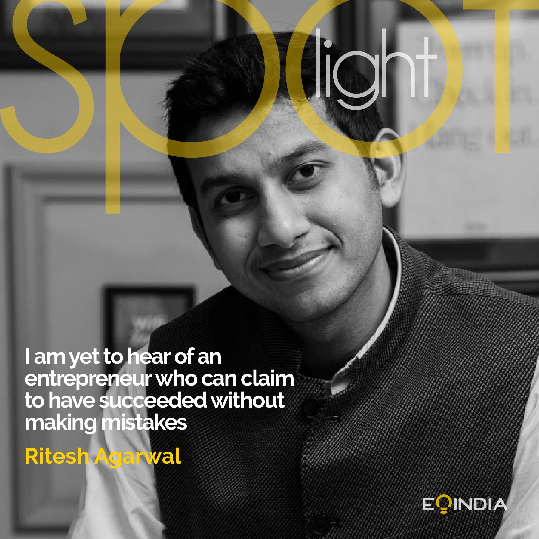 Ritesh Agarwal- Inspiring -entrepreneur