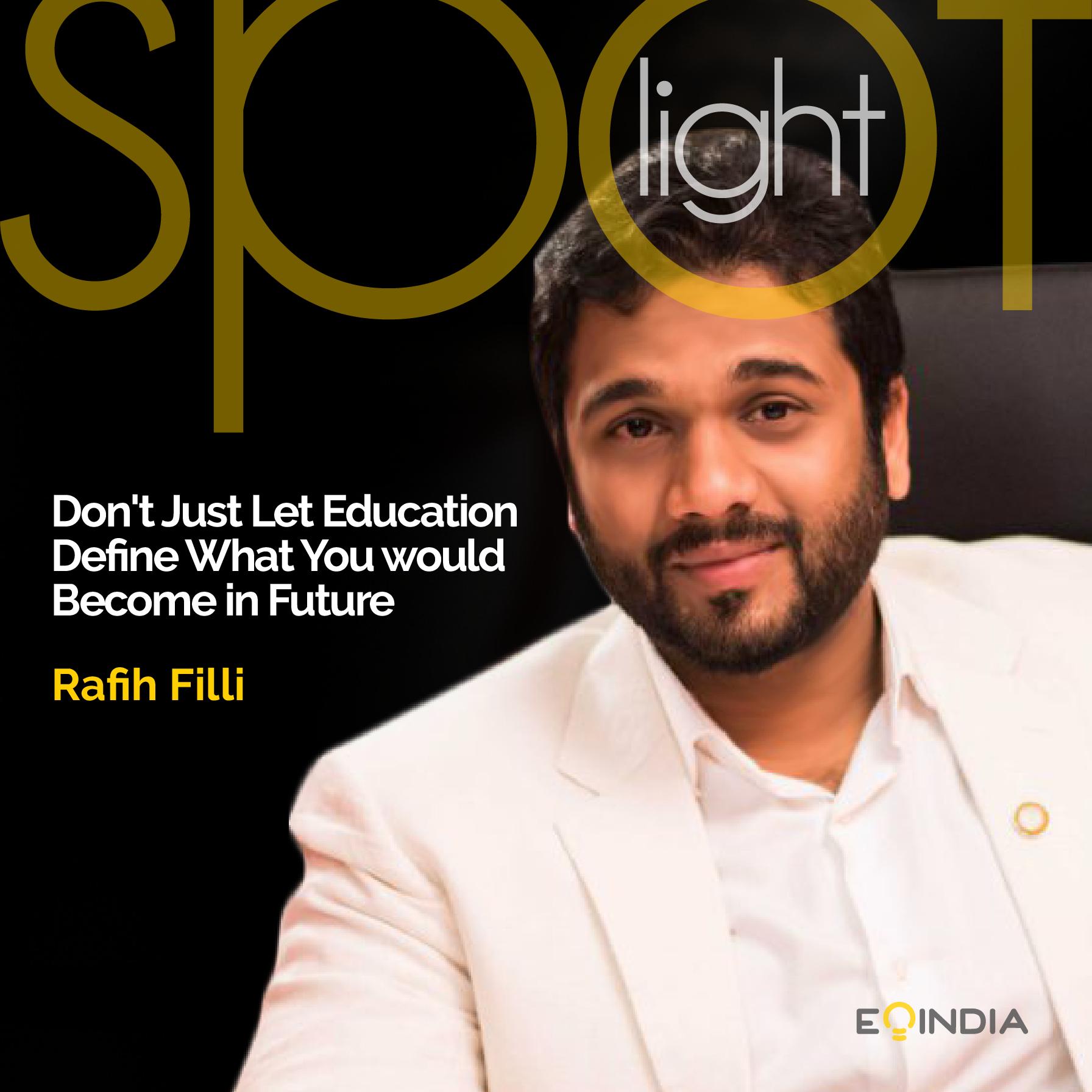 Rafih Filli - EOI Spotlight