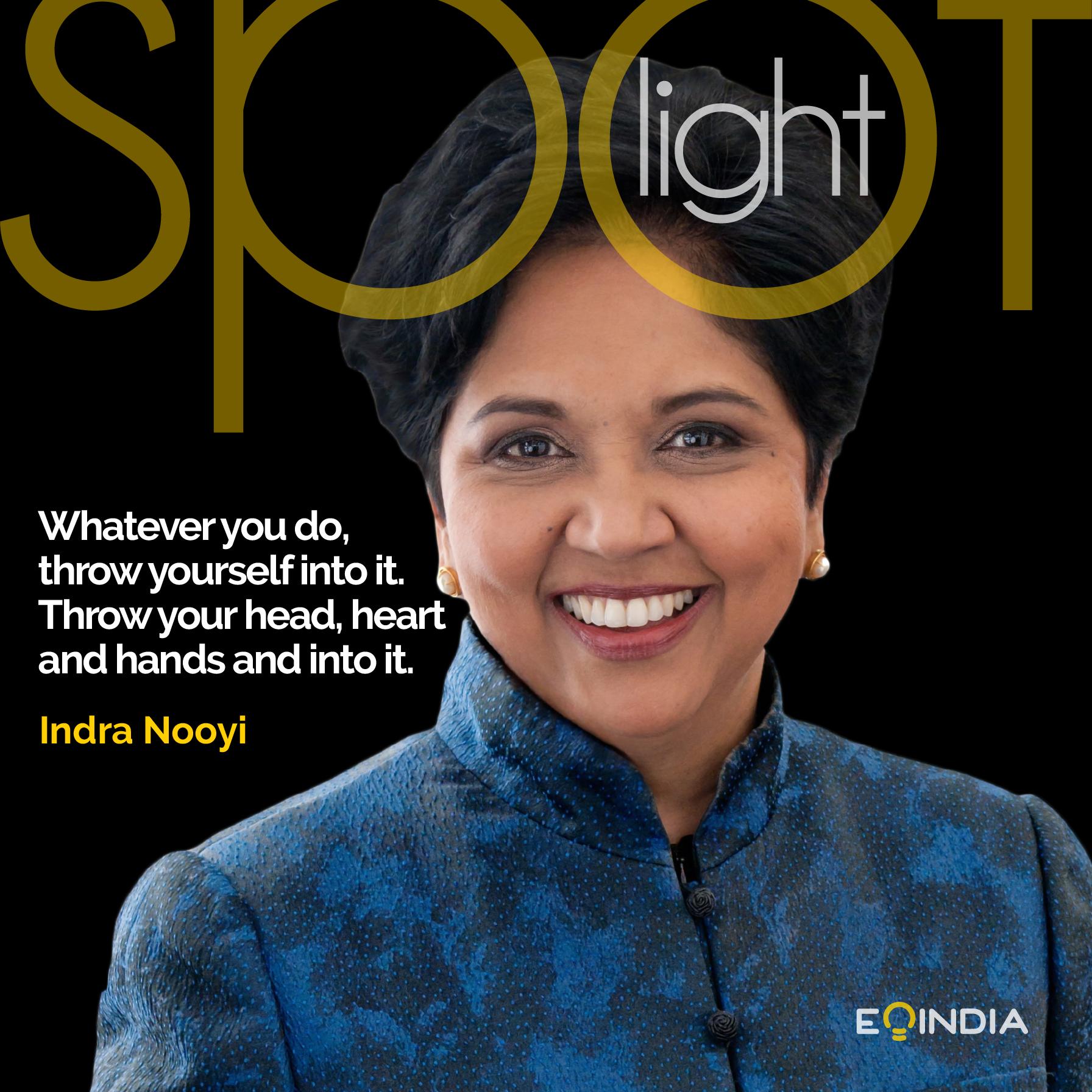 Inspiring entrepreneurs- Indra Nooyi