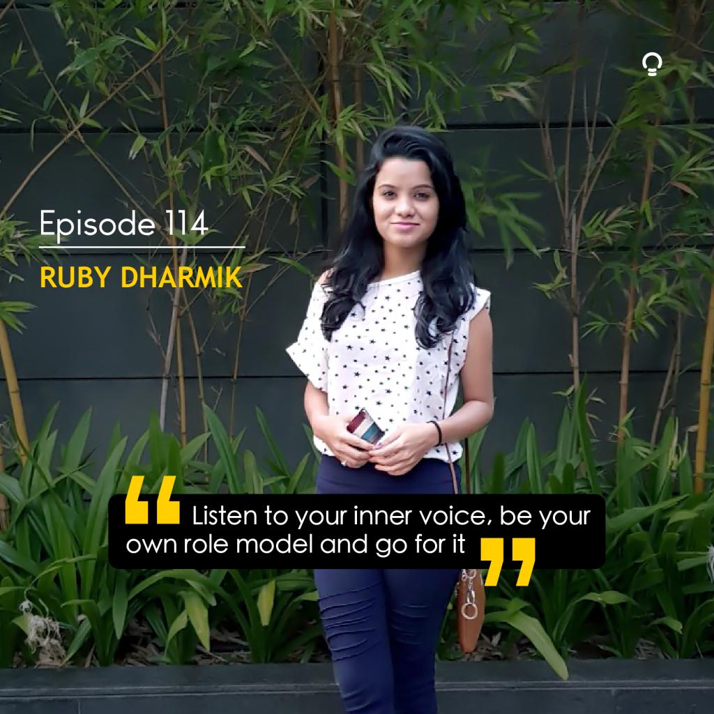 EOI Startup Stories - Ruby Dharmik